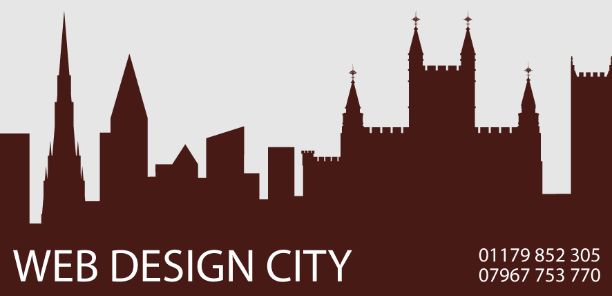 Logo of our web developer representing a skyline